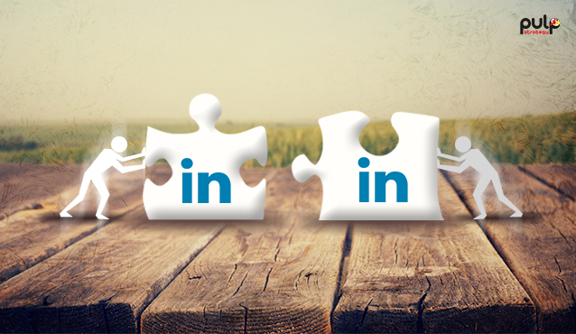 B2B business via LinkedIn