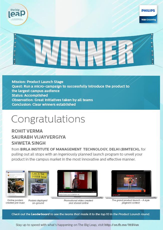 Philips Winner EDM